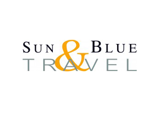 Sun & Blue Travel Logo